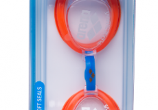Очки Arena Bubble 3 Junior Clear/Mango/Blue