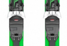 Горные лыжи+крепления Head Supershape i.Magnum SW MFPR black/green