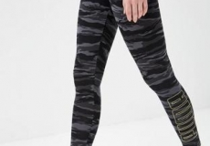 Леггинсы Puma Camo Leggings cotton black AOP