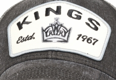 Бейсболка Los Angeles Kings серо-черная 55-58 Atributika&Club