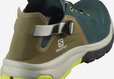 Кроссовки Salomon Tech Amphib 4 Green /Burnt O1