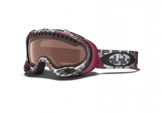Горнолыжная маска OAKLEY A Frame Buffalo Plaid Crimson