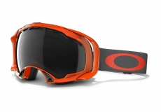 Горнолыжная маска OAKLEY Splice Neon Fire Dark Grey