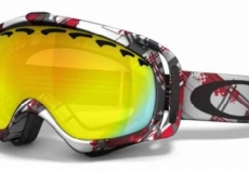 Горнолыжная маска OAKLEY Crowbar Snow Shattered WFire Iridium