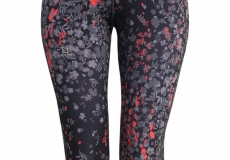 Тайтсы SALOMON ELEVATE 3/4 TIGHT W BLACK/INFRARED