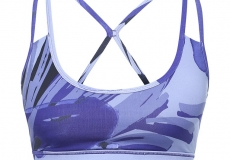 Топ SALOMON женский Light Bra Spectrum Blue/Black/Baja B