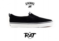 Кеды SLACKERS THE RAT black/white