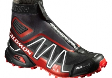 Кроссовки SALOMON SHOES SNOWCROSS CS BLACK/RADIA