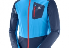 Куртка SALOMON RS SOFTSHELL DRESS BLUE/HA